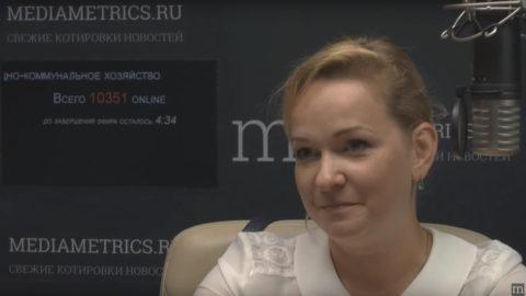 Юлия Белехова на Mediametrics