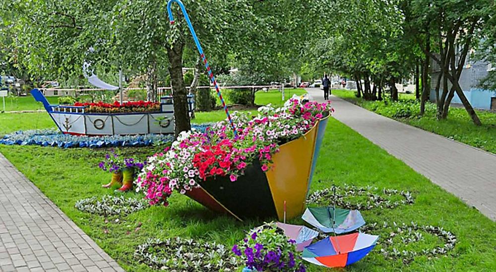 Фестиваль цветов в истре
