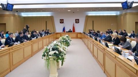 Выступление Юлии Белеховой на заседании Правительства Московской области 24 июля 2018 г.