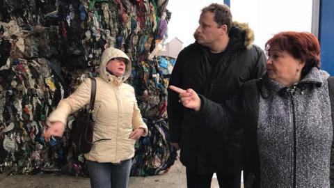 Завод по переработке твердых коммунальных отходов. Как это работает.
