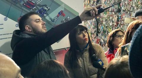 Управдомы Подмосковья посетили комплекс по переработке отходов в Зарайске.