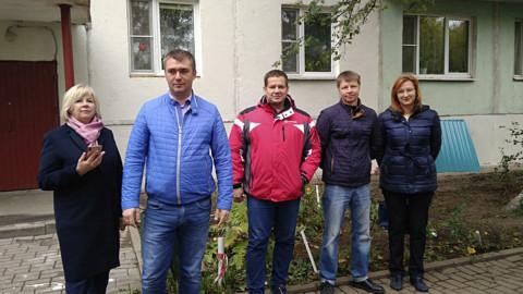 Общественный контроль хода работ по капремонту в Реутово