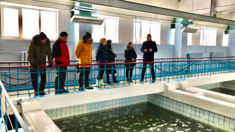 Управдомы из Мытищ и Королёва посетили станцию очистки воды