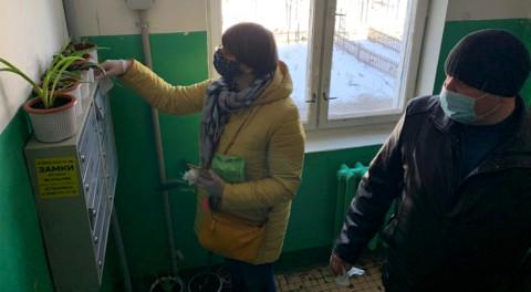Санитарную обработку подъездов проверили в Жуковском