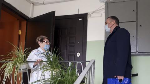 """Акция """"Помоги соседу"""" в Солнечногорске"""