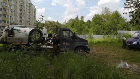 Проблемная канализационная насосная станция в Солнечногорске