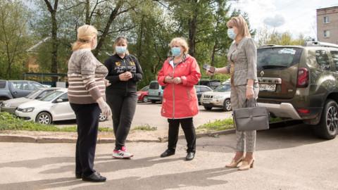 Проверка дезинфекции в Солнечногорске