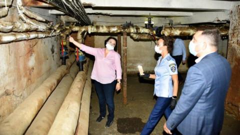 В Химках проверили готовность жилого фонда к отопительному периоду