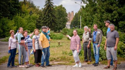 Город-сад. Неравнодушные жители благоустроили сквер в Жуковском