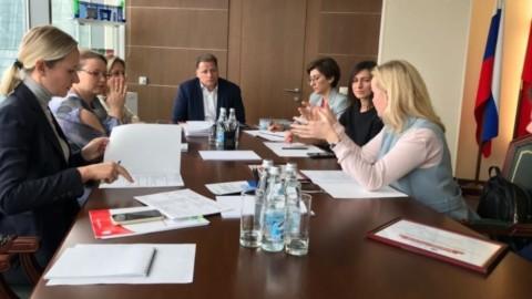 Заседание кафедры Министерства жилищно-коммунального хозяйства Московской области
