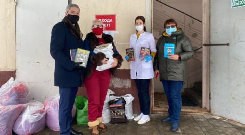 Акция «Книга в красную зону» в Ленинском округе