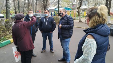 Встреча на проблемном объекте капитального ремонта в Подольске