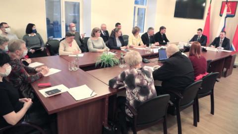 Встреча с заместителем министра ЖКХ в Лыткарино