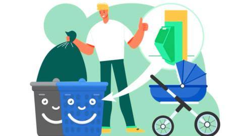 В Подмосковье стартовало голосование жителей по организации колясочных зон в местах демонтажа мусоропровода