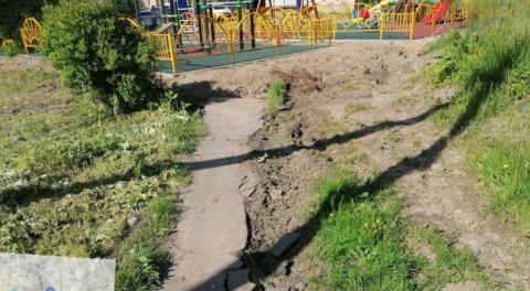 Печальные итоги благоустройства в Волоколамске