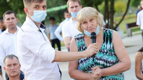 Встреча с жителями в Реутово