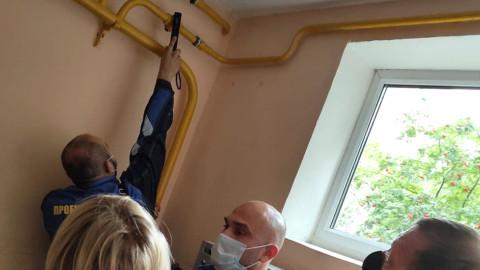 В Реутове проверили выполнение плановых работ по ТО внутридомового и внутриквартирного газового оборудования